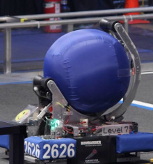 The 2014 robot